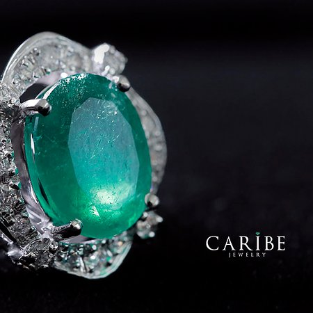 Caribe Jewelry: Colombian emeralds, Caribe emeralds