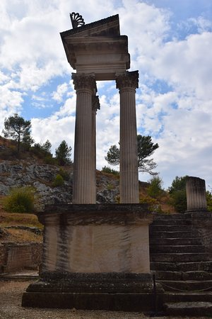 Saint-Remy-de-Provence, Frankrike: Remains of a temple.