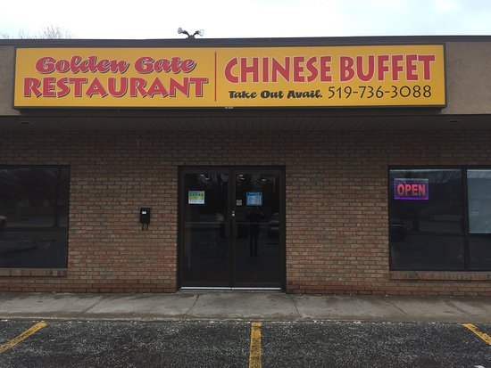 Amherstburg, Канада: Golden Gate Restaurant