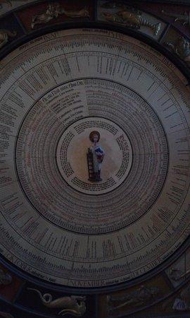 Lund, Suède : orologio astronomico