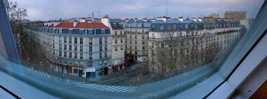 Hôtel du Prince Eugene: View from room 604