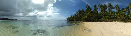 San Isidro, Filipinas: The island near Sugba Lagoon, definitely a good alternative for the tours departing in General L