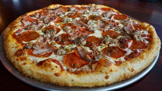 Streets of New York - Camelback at 2nd St.: Divine Swine Pizza