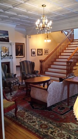 Kingfield, ME: Main House Foyer