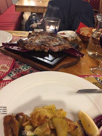 Ristorante Pizzeria Kaiserstube : Ireland Bone steak:))