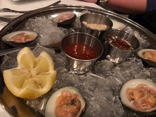 Riverdale, Nueva Jersey: Clams appetizer... skip it for $9.