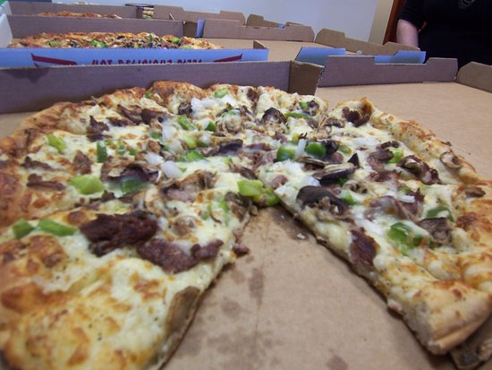 Coldwater, Мичиган: Philly Steak and Cheese Pizza