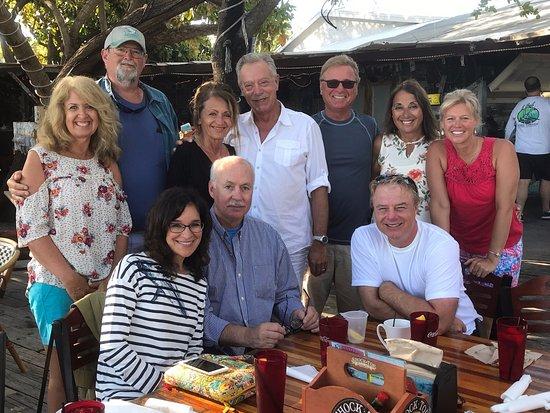 Lake Monroe, Φλόριντα: Breakfast at Robbies