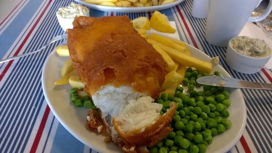 Overstrand, UK: Cod +chips