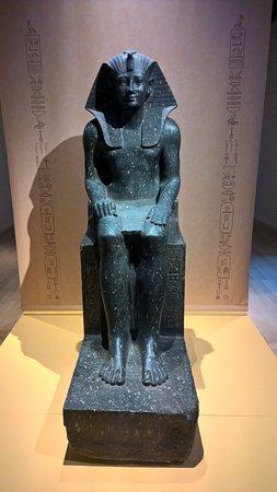 National Museum of Antiquities (Rijksmuseum van Oudheden): Een mooi beeld uit de tentoonstelling de Koninginnen van Egypte