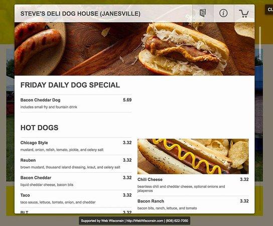 Janesville Wisconsin Fast Food