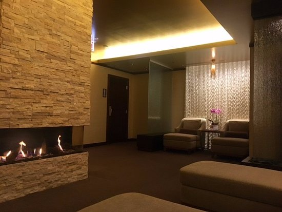 Hotel Arista at CityGate Centre: The relaxation room in the Spa.