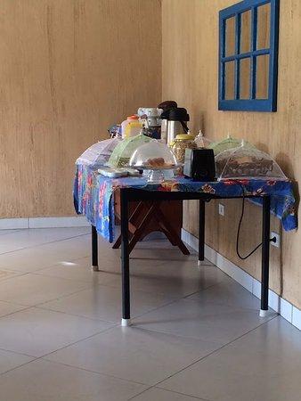 Pousada Vieiras: Café da manhã