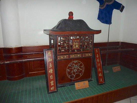 Fenghuang County, China: Maquette en bois