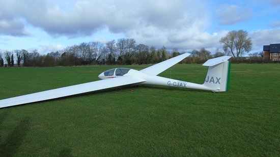 Pocklington, UK: The glider most visitors use