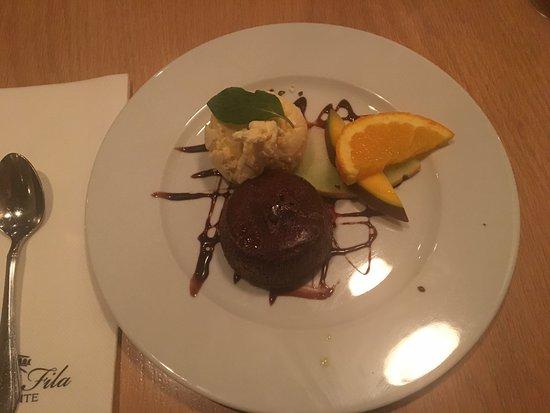 Prima Fila: Dessert plate