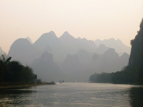 Guangxi, China: Every turn along the Li River is another amazing and different view!