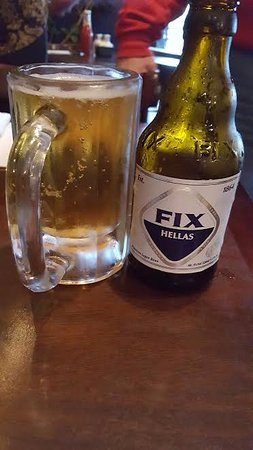 A cold beer to fix you up.
