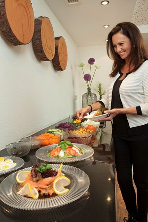 Aparthotel Brunnenhof: Salatbuffet