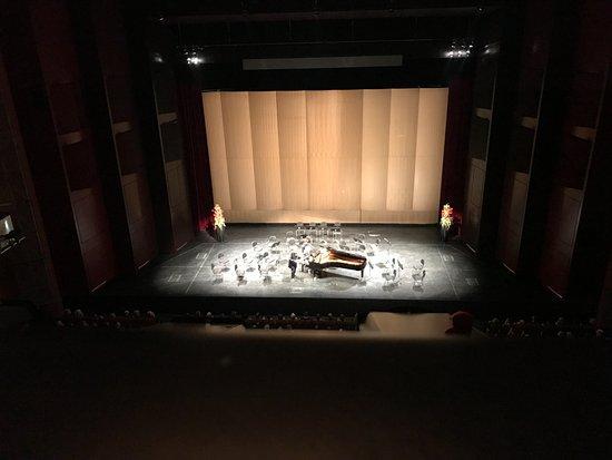 Festspielhaus Baden-Baden: Kurz bevor die Musiker kommen aus dem 2. Balkon