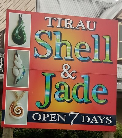 Tirau Shell & Jade Factory