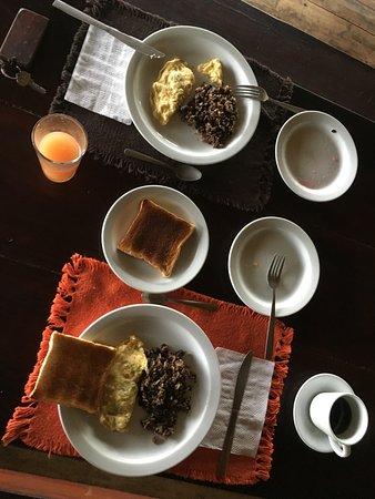 La Anita Rainforest Ranch: śniadanie pycha