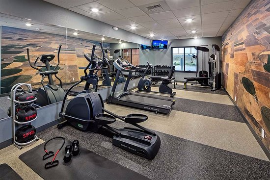 Fort Morgan, Колорадо: Our Fitness Center is the perfect way to start or end your day....with a sweat.