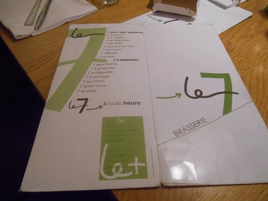 restaurant brasserie le 7 : Le 7