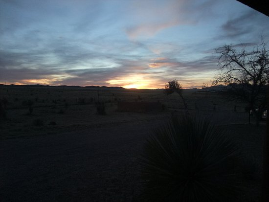 Elgin, AZ: Sunset from the porch