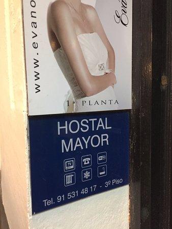 Hostal Mayor: esterno