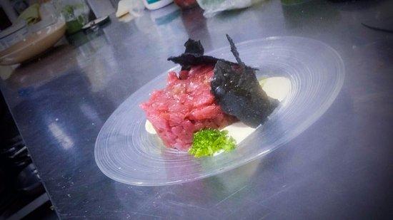 Монтеспертоли, Италия: Tartare di tonno