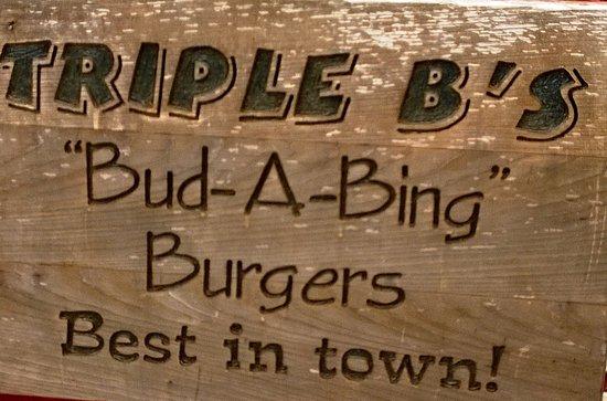 Madeira Park, Canada: Bud A Bings - catchy name