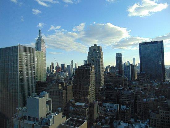 Hilton Times Square: What a view !.