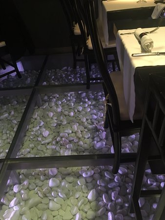 So Cool The Pebbles Beneath The Glass Floor