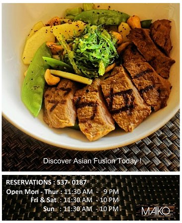 Warrens, บาร์เบโดส: Discover Asian Fusion Today !