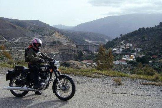 Velez de Benaudalla, Spain:  Camino a Acebuches