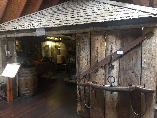 Bega, Australia: Original slab hut cheese factory