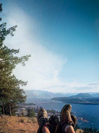 Kelowna, Canada: Hiking at Knox Mountain