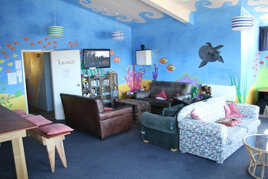 Fish Tank Lodge: Angoli relax al 1 piano