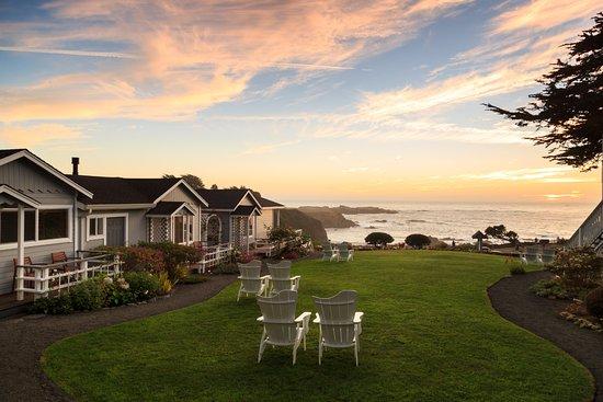 Sea Rock Inn: Sunset