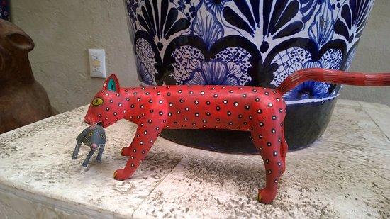 Gato con rat n picture of casa de los venados valladolid tripadvisor - Raton en casa ...