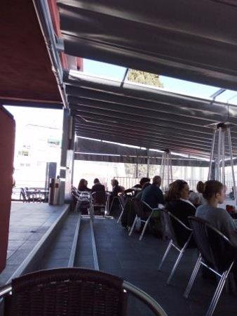 Argentona, Hiszpania: Terraza