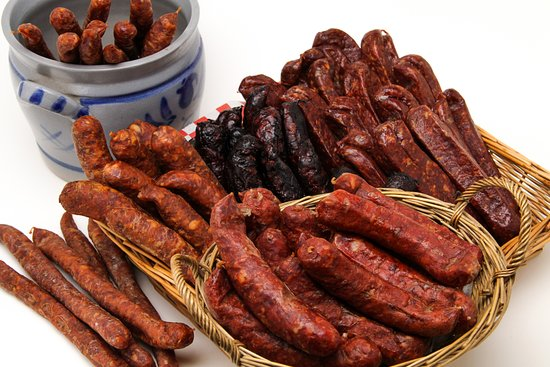 Invermere, Canada: Air Dry Sausage Selection