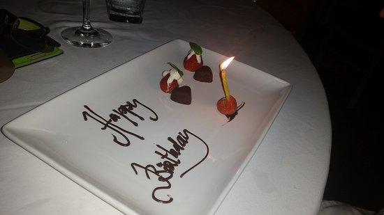 Bridges Bali Husbands Birthday Surprise