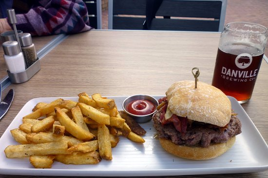 Danville, CA: Bloody Burger