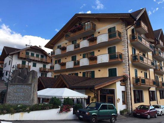 Transacqua, Italia: Hotel dall'esterno