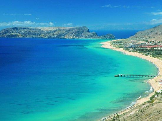 Porto Santo Island, Portugal: Simplesmente espectacular com águas calidas de azul turquesa um autêntico paraíso em Portugal.