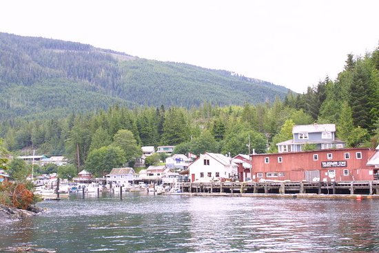 Rogers Pass, Kanada: Historic Quaint Village on Northeastern Vancouver Island. A Jewel in the North Island
