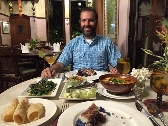 Ariyasomvilla : Dinner was incredible. Fresh and flavorful
