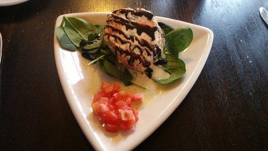 Girardi's Osteria: Stuffed Salmon